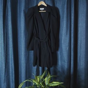 🌻MOVING SALE🌻 L'Academie Puff Sleeve Trench Coat